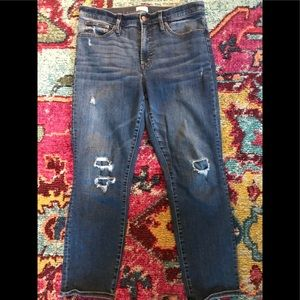 J. Crew Vintage Straight Jeans
